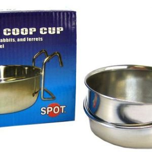 Spot Stainless Steel Hook-On Coop Cup