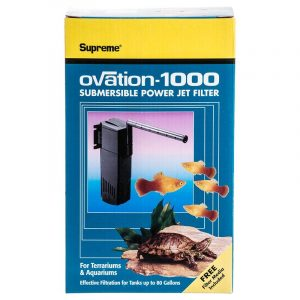 Supreme Ovation Submersible Power Jet Filter