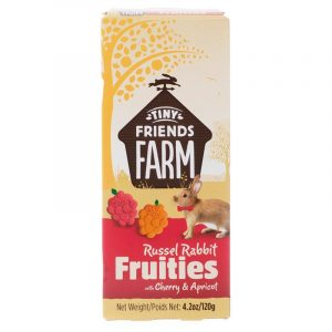 Tiny Friends Farm Russel Rabbit Fruities with Cherry & Apricot