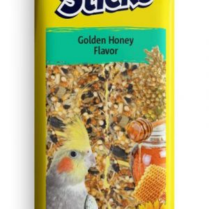 Vitakraft Crunch Sticks Golden Honey Cockatiel Treats