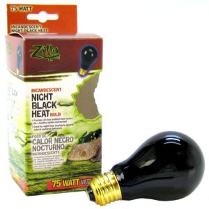Zilla Night Time Black Light Incandescent Heat Bulb