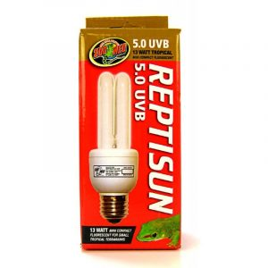 Zoo Med ReptiSun 5.0 UVB Mini Compact Flourescent Replacement Bulb