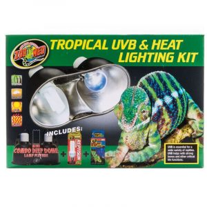 Zoo Med Tropical UVB & Heat Lighting Kit