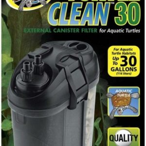 Zoo Med Turtle Clean 30 External Canister Filter for Aquatic Turtles