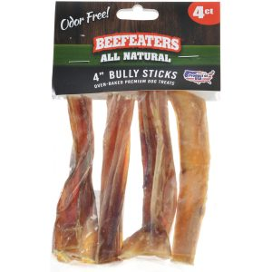 Beefeaters Bully Stick Dog Chews Small