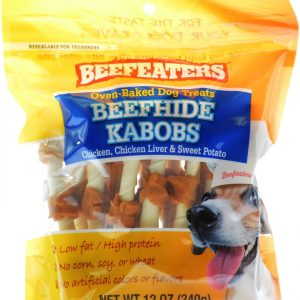 Beefeaters Oven Baked Beefhide Kabobs Dog Treat