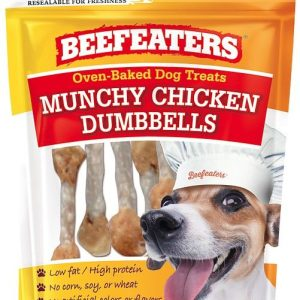 Beefeaters Oven Baked Munchy Chicken Dumbells Dog Treat