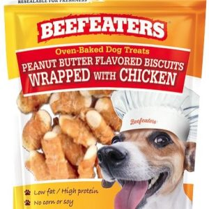 Beefeaters Oven Baked Peanut Butter with Chicken Biscuit for Dogs