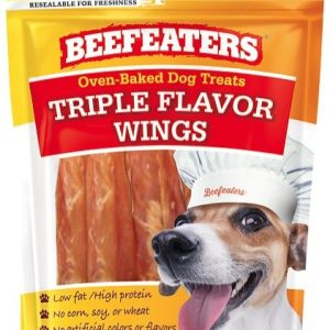 Beefeaters Oven Baked Triple Flavor Wings Dog Treat