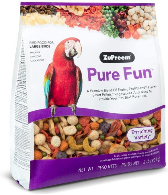 ZuPreem Pure Fun Enriching Variety Seed for Large Birds